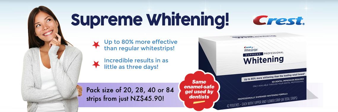 Crest 3D White Supreme Professional Whitening