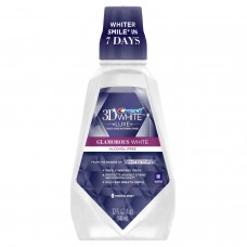 Crest 3D White Luxe Glamorous White Multi-Care Whitening Rinse 32oz / 946ml (Pack of 2)