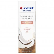 Crest 3D White Whitening Therapy Coconut Oil Toothpaste 4.1oz / 116g