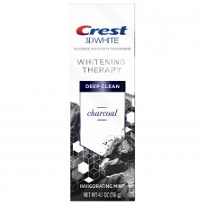 Crest 3D White Whitening Therapy Charcoal Toothpaste 4.1oz / 116g