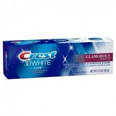 Crest 3D White Glamorous White Vibrant Mint Toothpaste 3.5oz / 99g