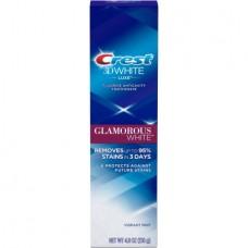 Crest 3D White Glamorous White Vibrant Mint Toothpaste 4.8oz / 136g
