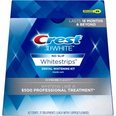 Crest 3D White Luxe Supreme Flexfit Whitestrips (21 Treatments / 42 Strips)