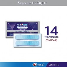 Crest 3D White Luxe Supreme Flexfit Whitestrips (14 Treatments / 28 Strips)