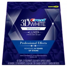 Crest 3D White Luxe Professional Effects Whitestrips (20 Treatments / 40 Strips)