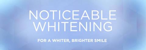 Crest Noticeably White Whitestrips Dental Whitening Kit 10